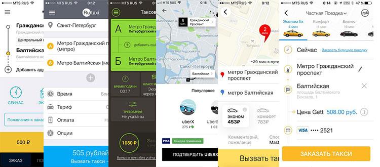 Сравнение дешевых такси в СПб